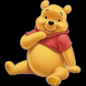 Winnie the Pooh Sitting Down
