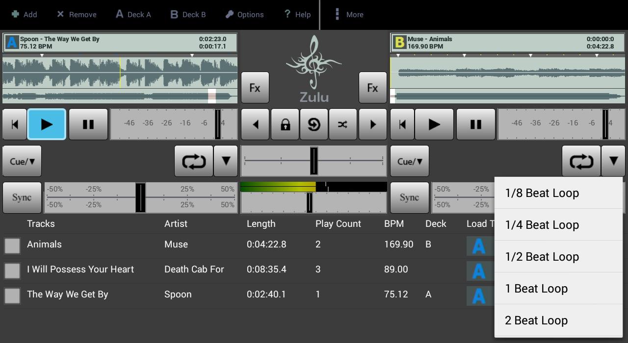 Zulu DJ Mixer Free- screenshot