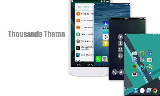L Launcher - Lollipop Launcher - screenshot