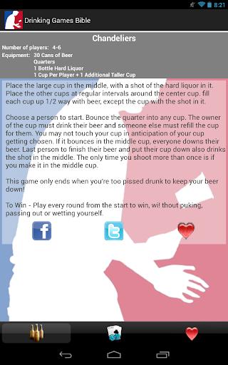 玩免費休閒APP|下載Drinking Games Bible Pro app不用錢|硬是要APP