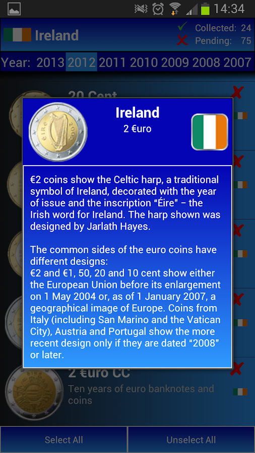 My Euros- screenshot