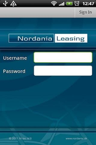 Nordania GPS - screenshot
