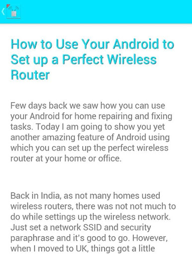 Wireless Router Setting