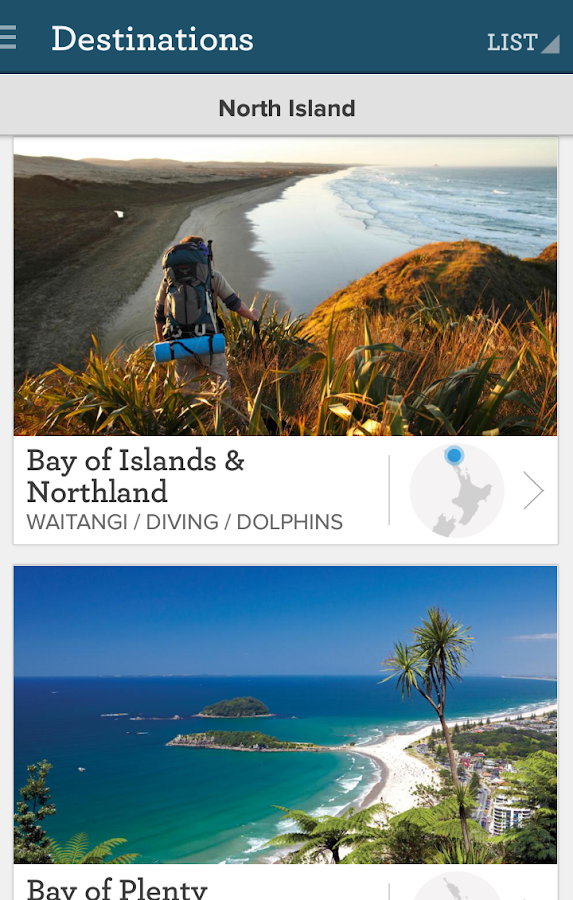 Essential New Zealand Travel - screenshot