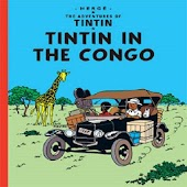Comic Tintin in the Congo