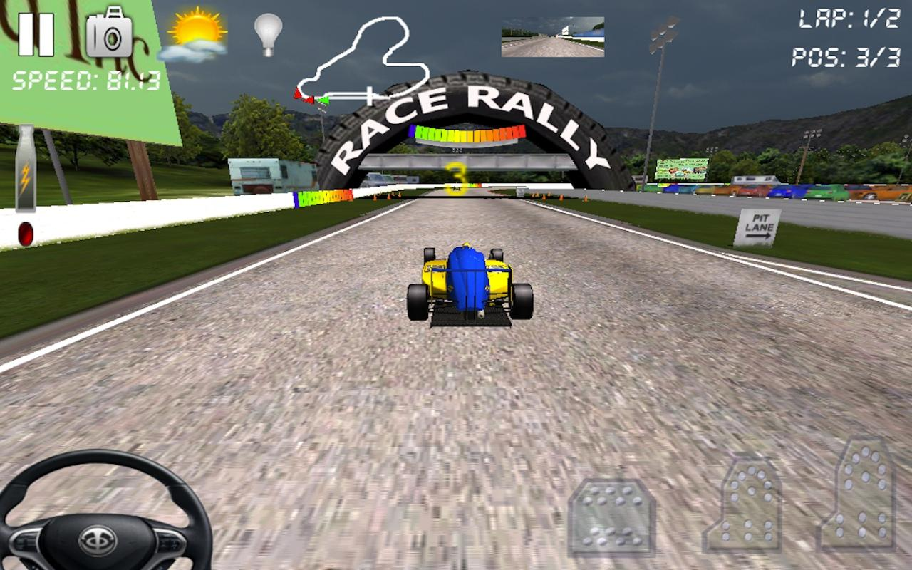 Race Rally 3D Go Xtreme Racing - screenshot