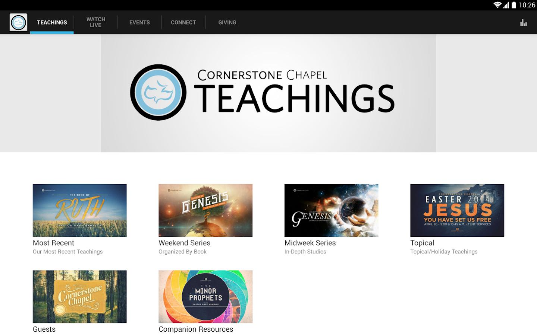 Cornerstone Chapel - screenshot