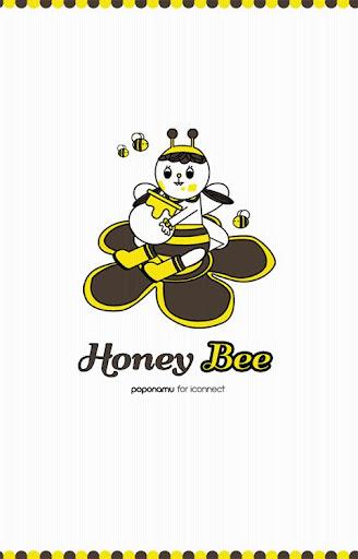 Honey Bee SMS Theme