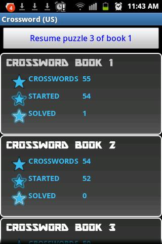 Crossword Puzzle US game