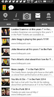 T in the Park 2014 Official - screenshot thumbnail