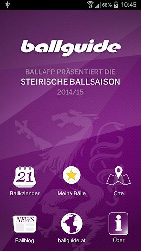 BALLAPP Steiermark 2014 15
