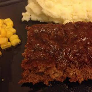 Jill's Sweet and Tangy Meatloaf.