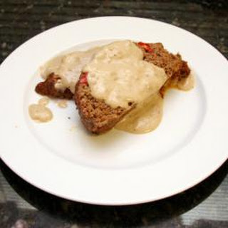 Classic Meatloaf With Country Gravy