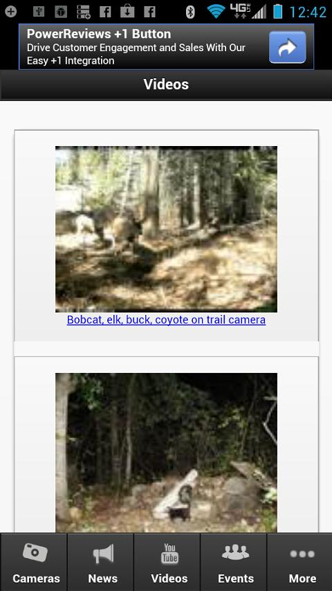 Hunting Trail Cameras - screenshot