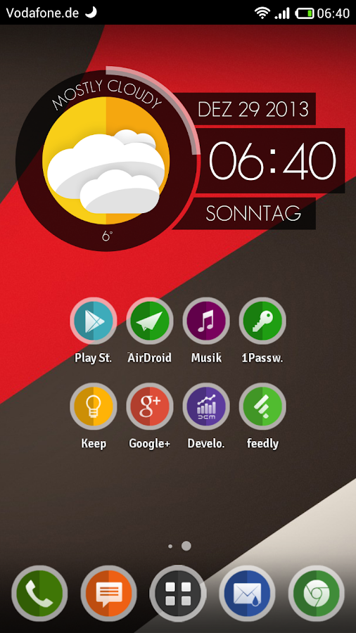DaLi Circle (Apex/Nova Theme)- screenshot