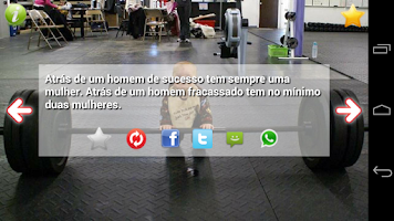 Screenshot of Frases Machistas Engraçada SMS