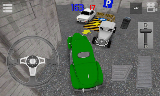 Classic Car Parking 3D Light- screenshot thumbnail