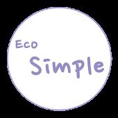 카카오톡 테마 - Eco Simple Purple