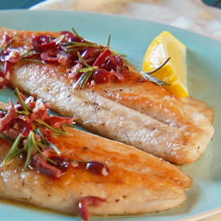 Fish Fillet with Rosemary.
