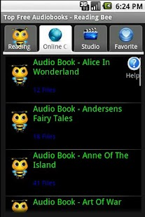 Reading Bee Audiobooks Premium - screenshot thumbnail