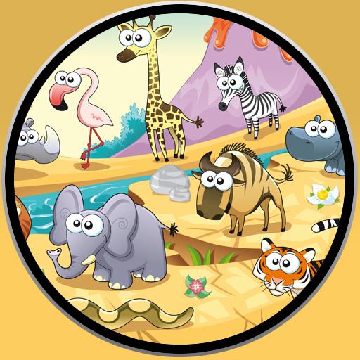 休闲の赤ちゃんはジャングルの動物を愛する LOGO-記事Game