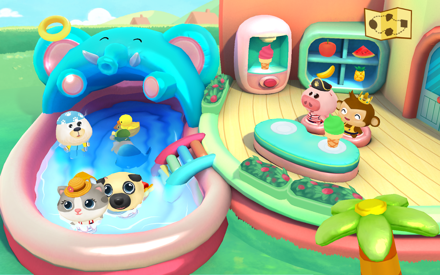 Dr. Panda's Swimming Pool- screenshot