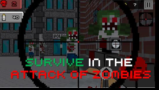 Pixel Sniper Zombie Apocalypse - screenshot thumbnail