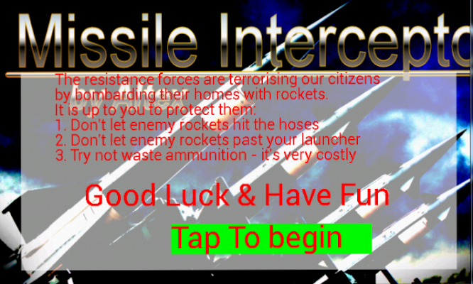 Missile Interceptor Beta - screenshot