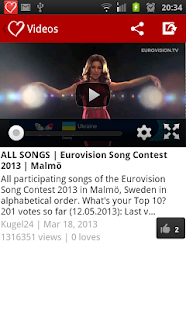 Eurovision 2013 Fan - screenshot thumbnail
