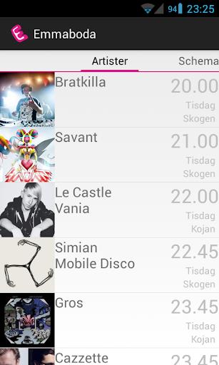 免費娛樂App Emmaboda Spelschema 2013 阿達玩APP
