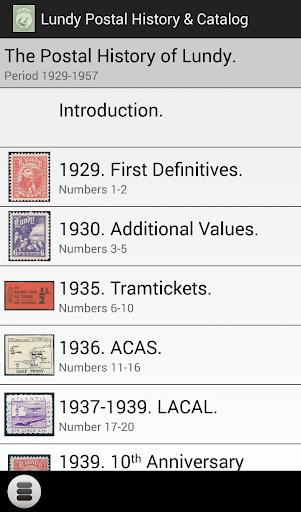 Lundy Postal History Catalog