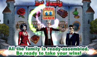 Screenshot of Bat Family Slot