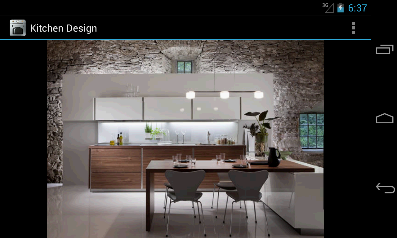 Kitchen design android apps on google play for Kitchen ideas app