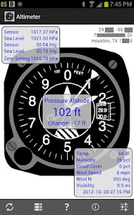 Altimiter & Barometer Monitor - screenshot thumbnail