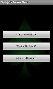 Black Jack Trainer- screenshot thumbnail