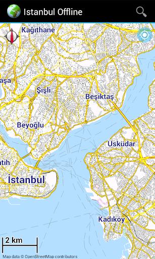 Offline Map Istanbul Turkey