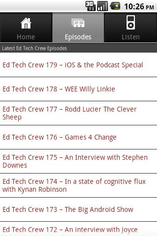 Ed Tech Crew - screenshot