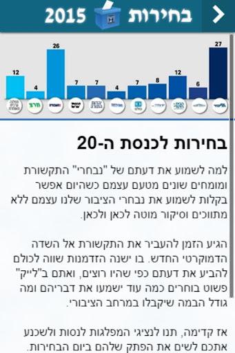 בחירות לכנסת ה-20 ישראל
