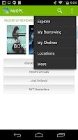 Screenshot of MyOPL
