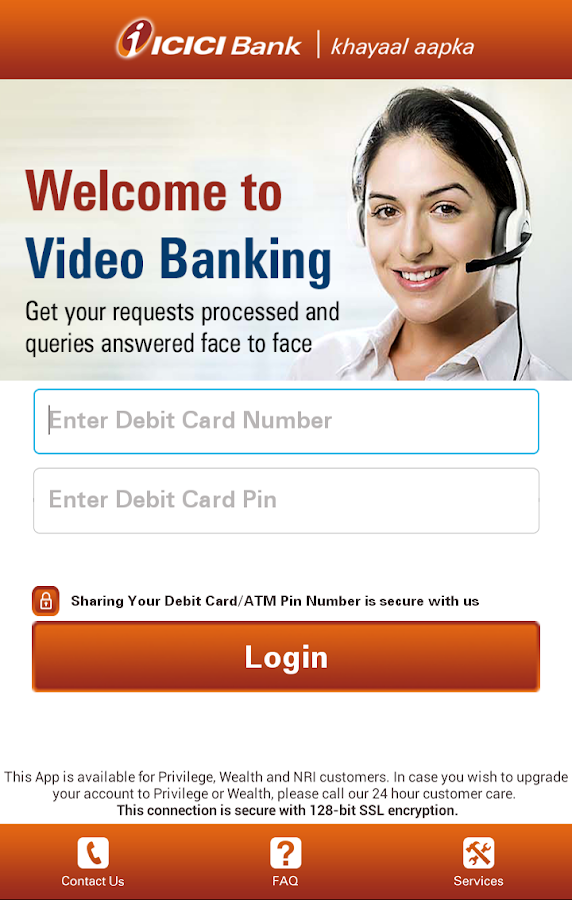 Video Banking- screenshot