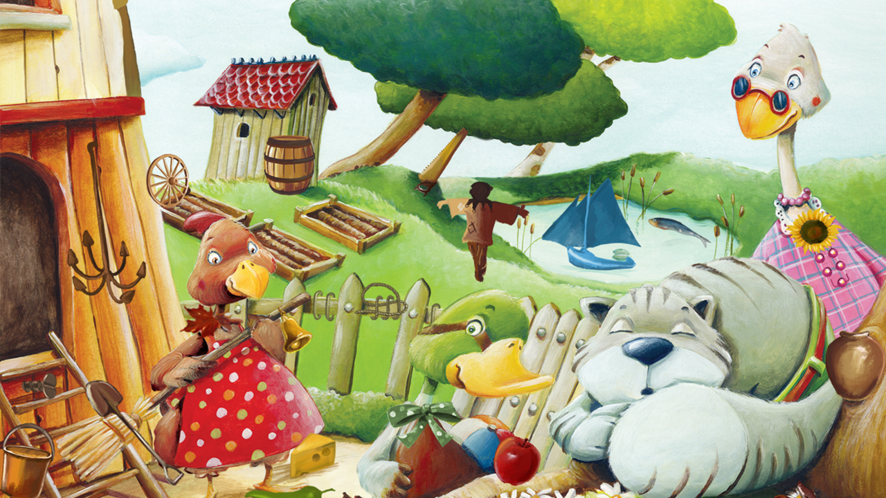 hidden free little red hen android apps on google play