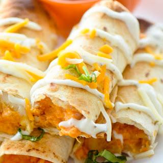 Baked Bufffalo Chicken Taquitos Recipe