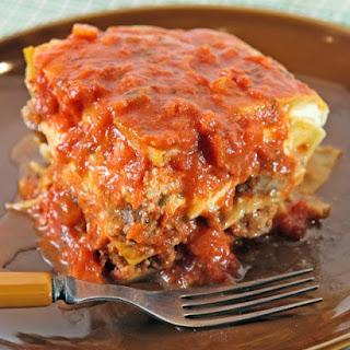 Patsy's Meatball Lasagna