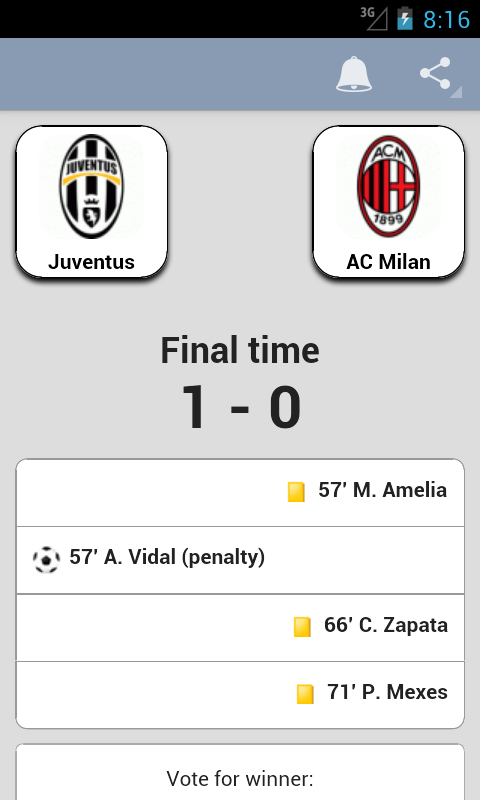 Serie A - screenshot