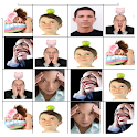 face recognition & contact logo
