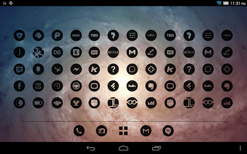 Dark Void – Minimalist Icons v1 0 8 APK | Guruslodge