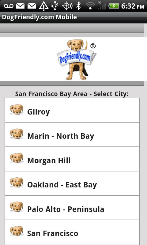 DogFriendly.com Mobile - screenshot