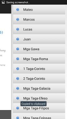 Ang Dating Biblia sa Tagalog - screenshot