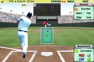 Screenshot of Batter VS Pitcher 2012 Lite