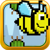 Flappy honeybee: Bird wings